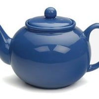 RSVP Stoneware Teapot Tea Pot Kettle in your choice of colors