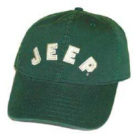 Jeep® Collegiate Baseball Hat (Green)