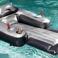 Motorized Inflatable Pool Lounger