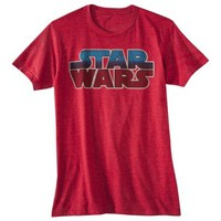 Star Wars Logo Men's Graphic Tee - Red