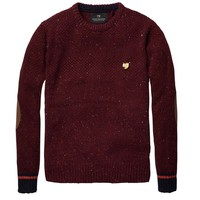 Crew Neck With Contrasting Cuffs - Scotch & Soda