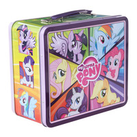 My Little Pony Mane Six Tin Lunch Box