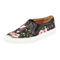 Givenchy Floral-Print Slip-On Sneaker