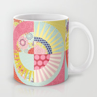 geo springtime Mug by Sharon Turner