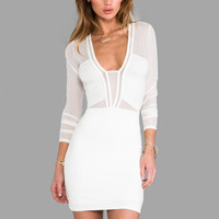 Style Stalker x REVOLVE Seductive Dress in White