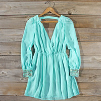 Moonstone Dress in Mint