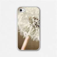 iPhone Case Rustic Dandelion Flower iPhone by LisaRussoFineArt