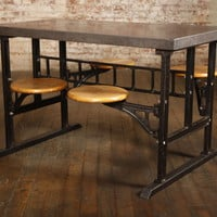 Original Vintage, American Made Swing Out Breakfast Table