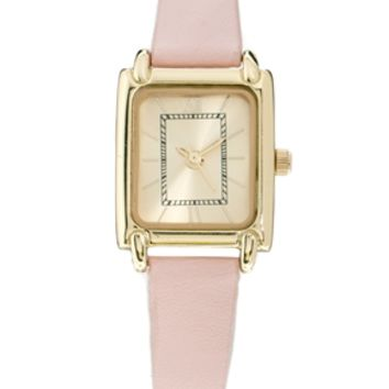 ASOS Vintage Style Pink Watch