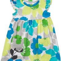 Carter&#x27;s Green Floral Tunic 2t-5t