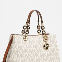 MICHAEL Michael Kors 'Cynthia - Medium' Satchel
