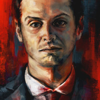 James Moriarty Art Print by Alice X. Zhang