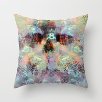 Out With a Bang Throw Pillow by Ben Geiger