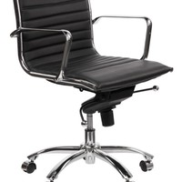 Malcolm Office Chair - Black | Office | Furniture | Z Gallerie