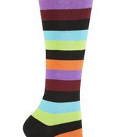 Sock It To Me BRYCE T STRIPE Womens Knee Socks