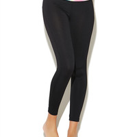 Tie Dye Waistband Legging | Wet Seal