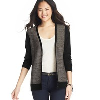 Lurex Textured Stripe Cardigan