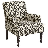 Liliana Armchair - Black Ironwork