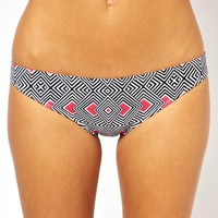 ASOS Magic Geo Hipster Bikini Pant
