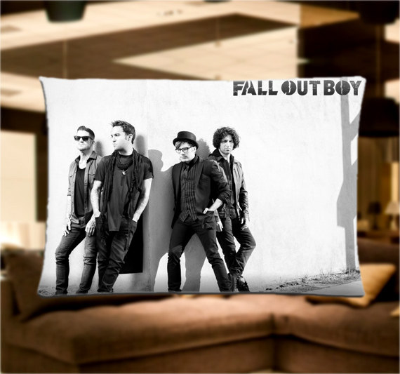 Fall Out Boy FOB Music Band Pillow Case From HOLLYPILLOW