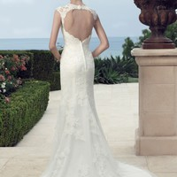 Casablanca Bridal 2148 Open Back Wedding Dress