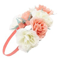 Capelli of New York Oversized Floral Crown Headband (Juniors) | Nordstrom
