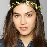 Delicate Flower Crown Headwrap - Urban Outfitters