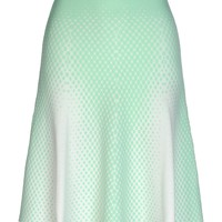 Ohne Titel Point Jacquard Skirt - Knee Length Skirt - ShopBAZAAR