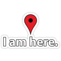 I am here - Google Maps T-Shirt