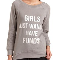 GRAPHIC TUNIC SWEATSHIRT