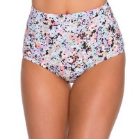 Sheridyn Swim Women's Swimwear Lulu high Waist bikini bottom Small Daisy-Floral