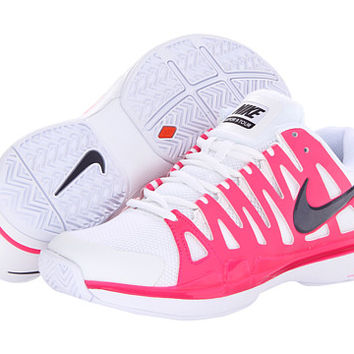 Nike Zoom Vapor 9 Tour White/Pink Foil/Purple Dynasty - Zappos.com Free Shipping BOTH Ways