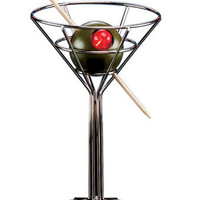 Martini Glass Lamp : Bars Cigars and Brew