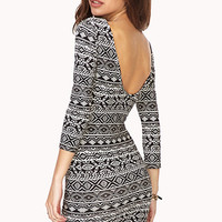 Bon Voyage Bodycon Dress