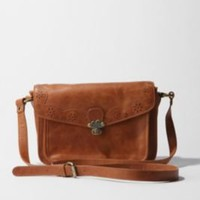 UrbanOutfitters.com &gt; Nica Perforated Flap Crossbody Bag