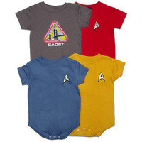ThinkGeek :: Star Trek Uniform Creepers