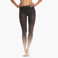 Women's Ombre Tights (Coal)