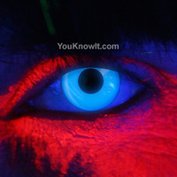 Rave / Glow Contact Lenses | EDIT Blue UV Contact Lenses (Pair)