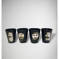 Duck Dynasty Commander 2 oz. Shot Glass Set 4 Pk