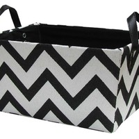 Black & White Chevron Basket | Shop Hobby Lobby