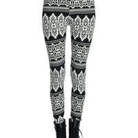 Soft Pixel Tribal Leggings