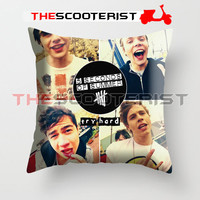 "5SOS Try Hard - Pillow Cover 18"" x 18"" - One Side"