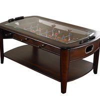 Foosball Coffee Table @ Sharper Image