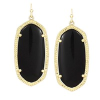 Elle Earrings in Black - Kendra Scott Jewelry