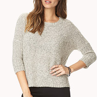 White Noise Textured Knit
