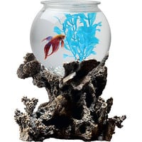 Walmart: Betta Treasures 1 Gallon Bowl with Stand