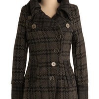 Follow the Chimney Smoke Coat | Mod Retro Vintage Jackets | ModCloth.com