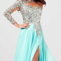Long sleeve Gown by Mac Duggal Prom