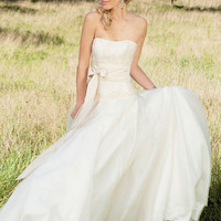 Designer wedding dress - Fiona wedding dress - Lyn Ashworth bridal gown collection
