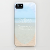 Endless Summer iPhone & iPod Case by Ally Coxon